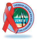 Logo for Caribbean American HIV/AIDS Awareness Day