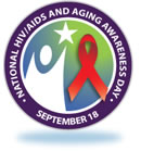 Logo for National HIV/AIDS and Aging Awareness Day