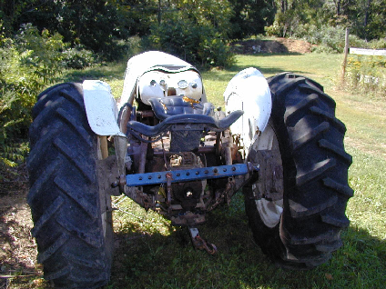 picture of tractor involved in the incident