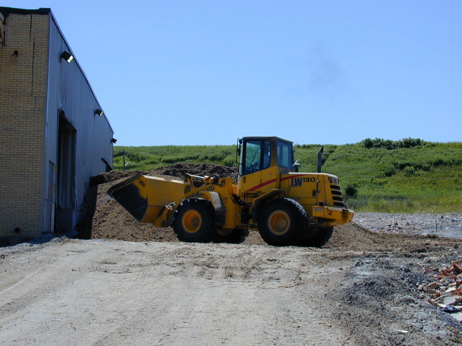 Figure 2 - Payloader that was involved in the incident