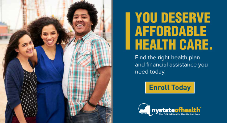 You Deserve Affordable Healthcare. Enroll Today!