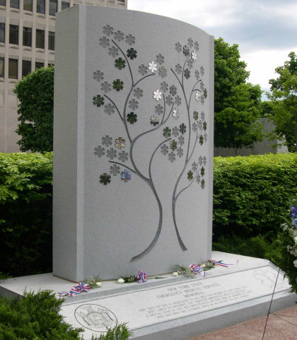 Picture of the New York State EMS Memorial