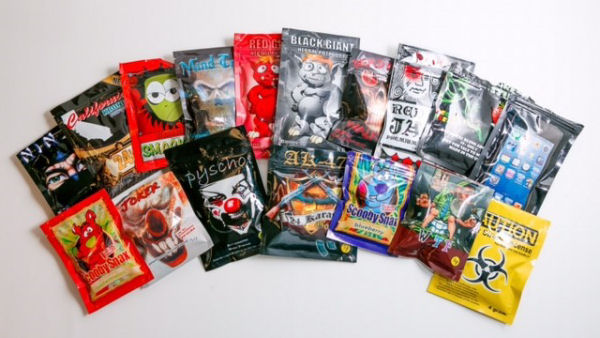 image of Synthetic Marijuana packaging